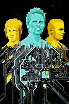 Muse artwork [Rolling Stone magazine 2015]