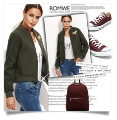 """Romwe contest"" by gggg325 ❤ liked on Polyvore featuring Converse, Dr. Martens and romwe"