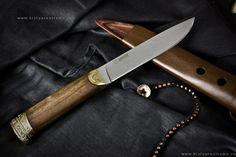 Охотничий нож Бичак Орех