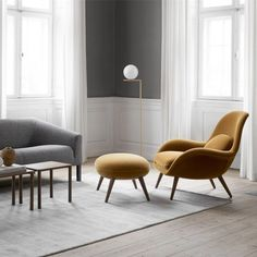 Finest chaise lounge chair edmonton to refresh your home Living Room Lounge, Living Spaces, Nachhaltiges Design, Interior Design, Modern Design, Danish Design, Furniture Styles, Furniture Design, Furniture Ideas