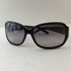 Ralph Lauren #Sunglasses Women's Black Gray Rectangular Wrap PA5002 533/11 125 #RalphLauren