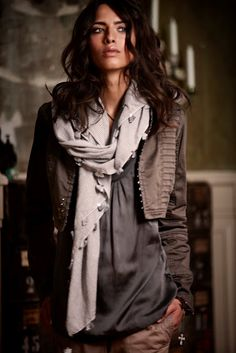 #layers and texture  New Style #2dayslook #fashion #new #nice #NewStyle   www.2dayslook.nl