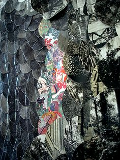 """Irreguliere"" mixed-media work by Eva Eun-sil Han"