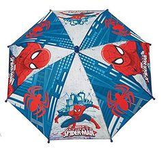 Paraguas apertura seguridad Spiderman Marvel Ultimate 38cm - http://comprarparaguas.com/baratos/marvel/paraguas-apertura-seguridad-spiderman-marvel-ultimate-38cm/