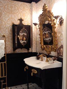 Melody Jane Puppenhaus Miniatur 1:12 Badezimmer Zubehör 2 Rolls Toilettenpapier Puppenstuben & -häuser