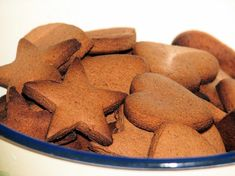 Ciasteczka piernikowe Dog Food Recipes, Cookies, Biscuits, Crack Crackers, Dog Recipes, Cookie Recipes, Cookie, Biscuit