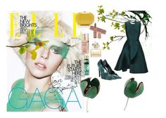 """""""Emeralds"""" by aistejewelry on Polyvore featuring Balenciaga, Elizabeth Arden, Jeffrey Levinson and Marc Jacobs"""