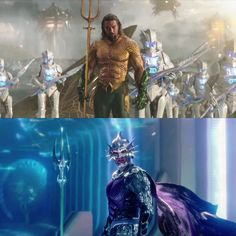 Aquaman - 2 film stills Arte Dc Comics, Fun Comics, Marvel Vs, Marvel Comics, Aquaman Movie 2018, Scary Mermaid, Black Adam Shazam, Justice League Aquaman, Badass Movie