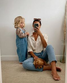 Mom Outfits, Casual Outfits, Cute Outfits, Cute Family, Baby Family, Toddler Fashion, Kids Fashion, Cute Kids, Cute Babies
