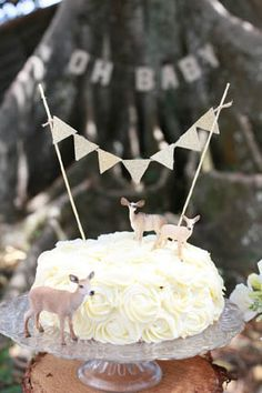 Amongst the Trees Nature Inspired Woodland Baby Shower