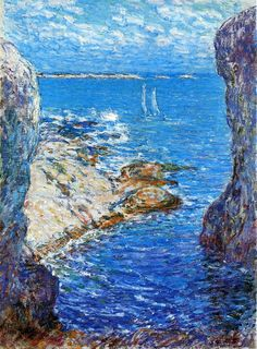 An Isles of Shoals Day by Childe Hassam