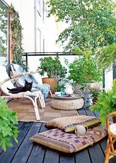 Inred din altan och balkong inför sommaren – 25 inspirerande uterum | Sköna hem