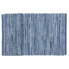 Land of Nod Recycled Denim rug