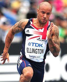 James Ellington - Athletics. 100m & 100m relay.