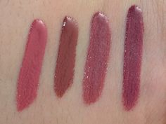 Rimmel Show Off Lip Lacquer Swatches