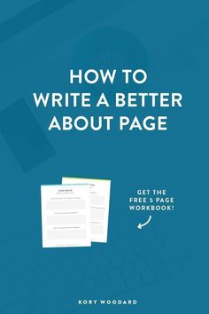 Writing your About page is probably one of the hardest things you'll do for your website. Instead of struggling, click through to read how I wrote mine + get a free workbook to help you write yours!