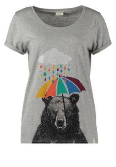 Wie gewohnt sehr verspielt und verrückt. Nümph Bear - T-Shirt print - grey melange für 24,95 € (17.10.14) versandkostenfrei bei Zalando bestellen.