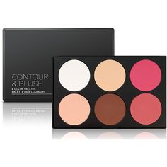 Contour Blush Palette ($12) ❤ liked on Polyvore featuring beauty products, makeup and palette makeup