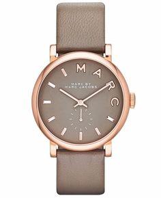 Marc by Marc Jacobs Original MBM1266 Baker Women's Rose Gold Stainless Watch | eBay