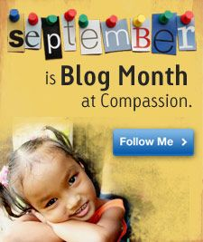 Our Little Corner of the World: Compassion Blogger Assignment: Dear God...are you blogging for Compassion this month? Let me know so I can read your posts also!