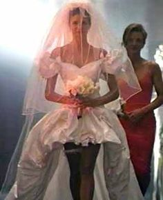 Who at one point in their life did not want Stephanie Seymour's Wedding Dress in November Rain? Pure rock star wedding.
