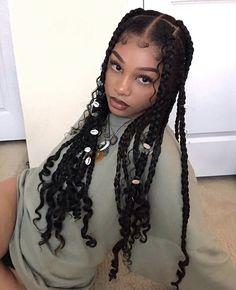 Black Girl Braided Hairstyles, Girls Natural Hairstyles, Black Girl Braids, Baddie Hairstyles, Girls Braids, Box Braids Hairstyles, Pretty Hairstyles, Girl Hairstyles, Black Girl Hair