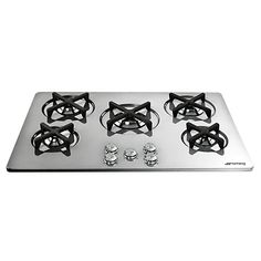 Buy Smeg P755X Marc Newson Gas Hob, Stainless Steel Online at johnlewis.com