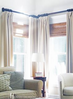 sheer pleated draperies with contrast blocking at hem gardinen pinterest vorh nge ideen. Black Bedroom Furniture Sets. Home Design Ideas