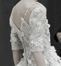 #Chanel Haute Couture Spring 2013 #Details
