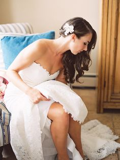 16 Wedding Hairstyles for Long Hair With Hairpins | TheKnot.com