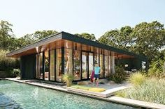 Image result for Jonathan Adler and Simon Doonan's A-Frame Cabin on Shelter Island