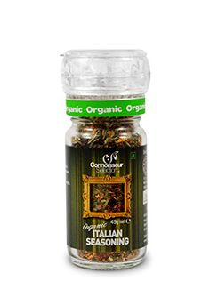 Connoisseur Selection Certified Organic Italian Seasoning with Grinder Cap - 45 g Connoisseur Selection http://www.amazon.in/dp/B00N3VAZXU/ref=cm_sw_r_pi_dp_CwEXvb09EAS1W