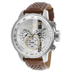 Invicta Men's 19286 S1 Rally Analog Display Swiss Quartz Brown Watch
