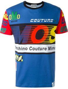 41b468b5 Moschino printed T-shirt Mens Tee Shirts, Luxury Fashion, Mens Fashion,  Printed