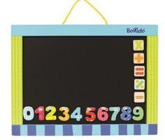 BoiKido  Магнитная доска с цифрами. Возраст: 3-5 лет. В комплекте: 10 магнитных чисел и 5 знаков для вычисления.