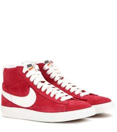 Nike Blazer Mid Vintage suede high-top sneakers