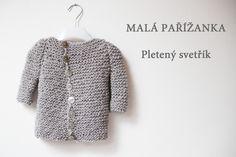 Baby Knitting, Knit Crochet, Fur Coat, Sweaters, Fashion, Moda, La Mode, Sweater