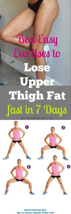 Best Exercises to Lose Upper Thigh Fat Fast in 7 Days #lose15pounds