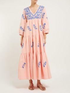 Beach Wear Dresses, Linen Dresses, Summer Dresses, Modest Fashion, Boho Fashion, Fashion Dresses, Fashion Design, Midi Wrap Skirt, Sewing Blouses