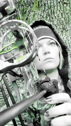 Girls hunt too....... #Archery #Bow