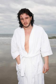 """Yes, room service? Send me right away the special """"Kit-licious wrapped on a robe"""", real hot, please"""
