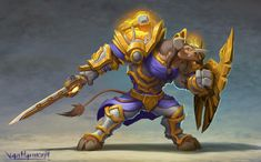 Tauren Paladin by VanHarmontt on DeviantArt World Of Warcraft Characters, Fantasy Characters, Armor Concept, Concept Art, Fantasy Character Design, Character Art, World Of Warcraft Paladin, Tomb Raider Cosplay, Dungeons And Dragons Game