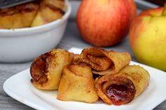 MEGA dobré zapekané jablkové palacinky: zdravá maškrta nielen na jeseň! - Fitshaker Food And Drink, Peach, Fruit, Peaches