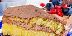 Sukkerbrød med sjokoladekrem - Dette er en barndomsfavoritt!