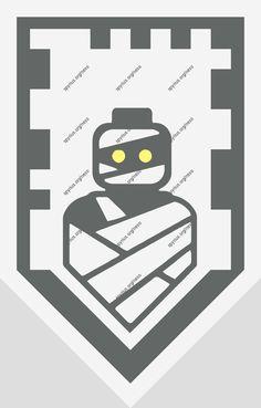 LEGO NEXO Knights Power - Lance - Draining Scarf |spyrius.org
