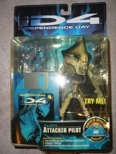 Trendmaster Independence Day Movie ID4 Attacker Pilot Action Figure 1996 | eBay