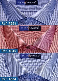 Texturas, diseños y colores en nuestras camisas formales. Jean Gaudin, camisas con estilo. #Manizales #ModaMasculina #Estilo #Hombres #Camisas #Fashion #style #tiendaonline #Colombia