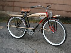 1951-52 J.C. Higgins Deluxe - Picture #1 - Dave's Vintage Bicycles