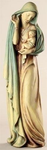beautiful Madonna and Child Figurine by Joseph's Studio