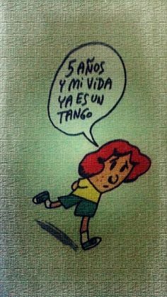 Mi vida ya es un tango... #AracaCorazón #Tute #Humor